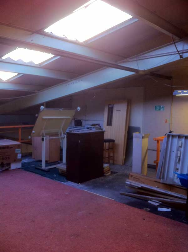 Stage 2 - Area to be soundproofed