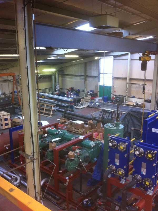 Stage 3 - Factory shop floor