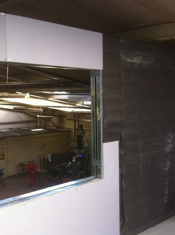 Stage 6 - Forming the twin wall and viewing gallery