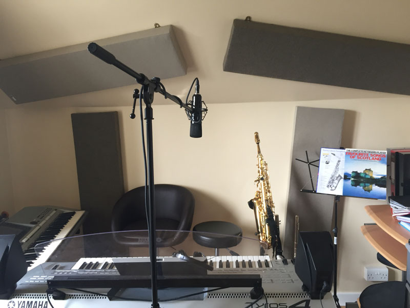 Stage 11 - Finished home studio