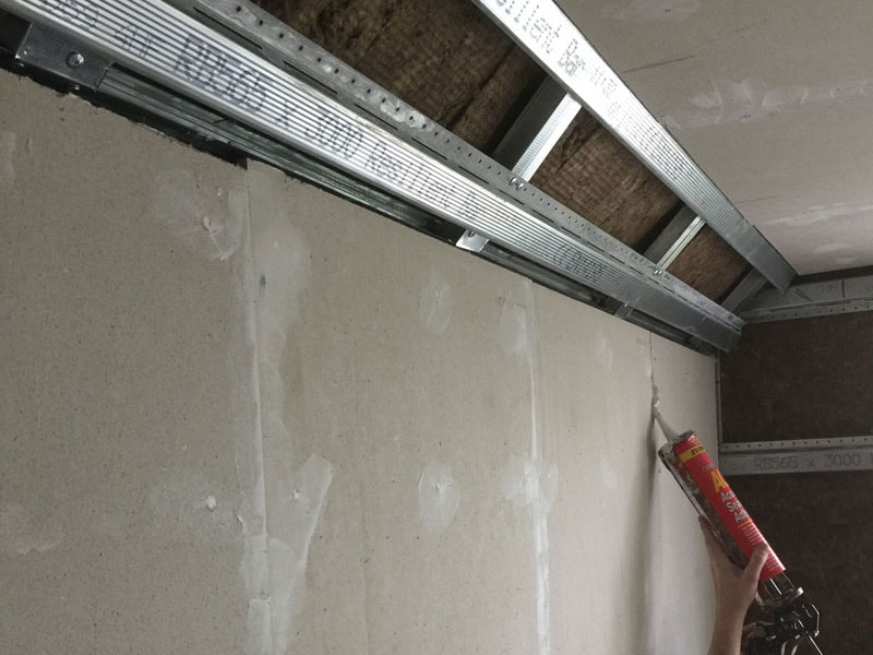 Stage 4 - Acoustic sealant