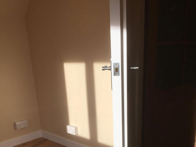 Stage 9 - Acoustic door hanging
